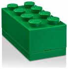 LEGO 2x4 mini tárolódoboz zöld (40121734) 82147f0ef2