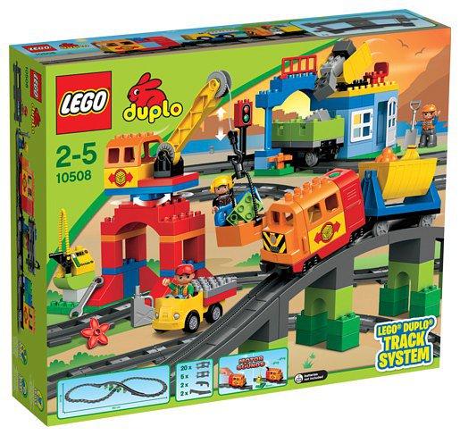LEGO ® DUPLO Deluxe vasútkészlet (10508)