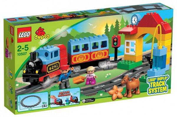 LEGO ® DUPLO Első vasútkészletem (10507)