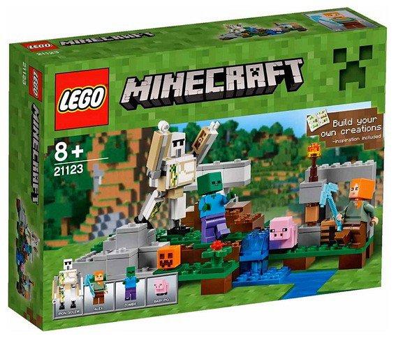 LEGO ® Minecraft A vasgólem (21123)