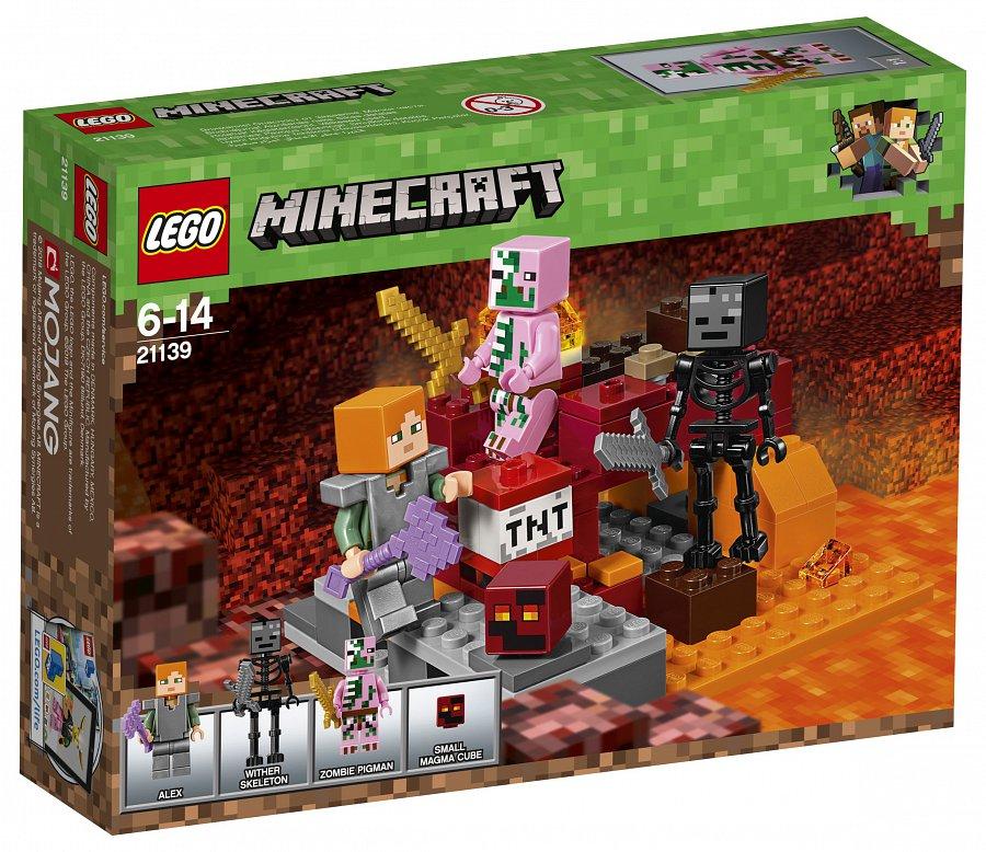 880674f3e0 LEGO Minecraft Az alvilági harc (21139) - 220volt.hu